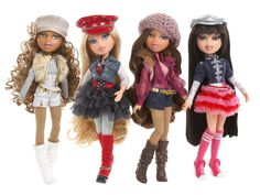The Bratz made a huge comeback in 2010 after winning their lawsuit against Mattel.