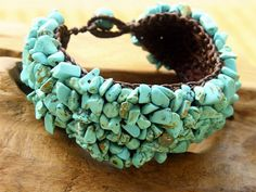 Fair Trade Truth of Turquoise Cuff Bracelet – Made in Thailand by Ahsu www.globalgroovelife.com