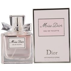 Miss Dior By Christian Dior Eau-de-toilette Spray, 1.7-Ounce ($65) via Polyvore featuring beauty products