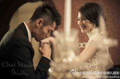 On this occasion of the Chinese Valentine's Day of 七夕, in line with the Olympic theme, here's the most celebrated couple in the Chinese sports scene:   One of a kind Badminton legend, 林丹 Lin Dan and his wife, former World Champion, 谢杏芳 Xie Xingfang