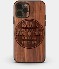 Vinyl Record Collector iPhone 13 Series Cases - Custom Wood iPhone 13 Series Covers | 12 EP - iPhone 13 Pro