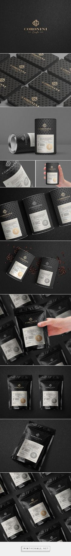 Coronini Cafe Micro Roasting Company Packaging by Milos Milovanovic | Fivestar Branding Agency – Design and Branding Agency & Curated Inspiration Gallery