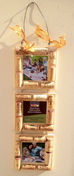 Wine Cork Frame Mothers Day Gift by...