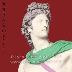 Apollo - Modern Renditions – Greek Gods – The Olympians http://www.tylerjamesbush.com/portfolio_page/modern-renditions-greek-gods-the-12-olympians-hercules/