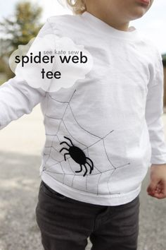 see kate sew: spider web tee