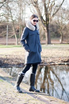 Fashion: 'My Fall Favorites' | Mood For Style - Fashion, Food, Beauty & Lifestyleblog | Hunter Boots