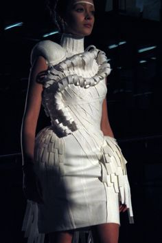 Central Saint Martins White Show 2011 | Fashion, Projects, White Show | 1 Granary1 Granary | By the Students of Central Saint Martins