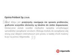 Opinia Poldent Sp. z o.o. #migomedia