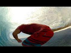 Kalani Chapman surfs Desert Point GoPro HD
