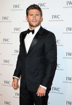 Pin for Later: Scott Eastwood Does This 1 Sexy Thing Nearly Every Time He Hits a Red Carpet