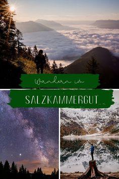 Wandern im Salzkammergut - Was gibt es Schöneres? Spaß beiseite, zum Wandern eignet sich das Salzkammergut hervorragend und bietet für wirklichen jeden tolle Optionen. Hallstatt, Fjord, In This Moment, Adventure, Mountains, Nature, Travel, Hiking, Naturaleza