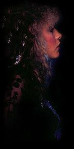 #STEVIENICKS, a HWWIII Classic.  Blue Lamp sessions, I call them...from Bella Donna era.