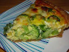 Four Cheese Broccoli Quiche