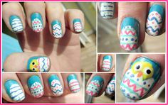 The cutest Easter nails I've seen.