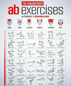 no-equipment an exercises