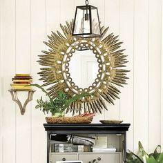 Antique Sunburst Mirror  I  ballarddesigns.com