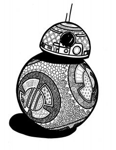 Polkadots on Parade  Star Wars  The Force Awakens Coloring Pages     Star Wars Coloring Pages for Adults   Kids Are you a Star Wars fan  If  you re not  I bet you know a few people that are