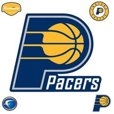 Sports fan gear for the Indiana Pacers basketball fan. NBA bedding, game day gear, decals, party supplies, gifts and other collectible sports merchandise at Team Sports. Indiana Pacers, Nba Basketball Teams, Sports Merchandise, Nba Wallpapers, Discount Handbags, Cool Logo, Team Logo, Awesome Logos, Basketball
