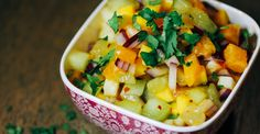 Paleo Tropical Salsa, A Refreshing Condiment…Perfect with our Paleo Coconut Crusted Cod!