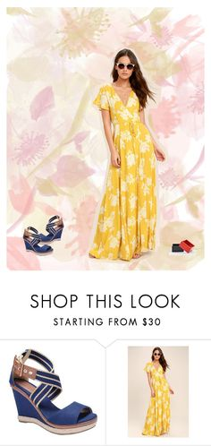 """Spring catalog 3"" by brooklynbeatz ❤ liked on Polyvore featuring LULUS, The Unbranded Brand, under100 and marigold"