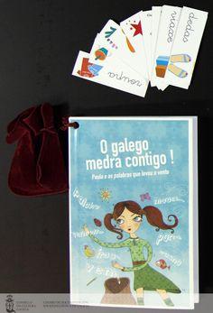 [Servizo de Normalización Lingüística do Concello da Coruña, 2010] Cover, Books, Nail, Libros, Book, Book Illustrations, Libri