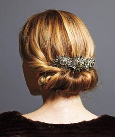 6 Holiday Hairstyles That Are Downright Stunning—and Deceptively Easy | It's not difficult to come up with an elegant, party-ready look. Here, celebrity stylist Mark Townsend simplifies this season's prettiest styles.