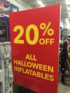 at on stuff Halloween Inflatables, Halloween Stuff, Grocery Store, Great Deals, Lowes, Halloween, Lowes Creative, Halloween Prop