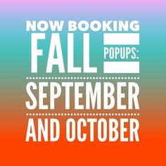 Just think of all those comfy LuLaRoe leggings dresses and sweaters for Fall!  Who's ready to book a PopUp in September or October