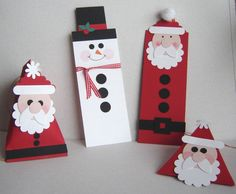 Experimenting with Holiday Treats for First Grade by Kristin Moore - Cards and Paper Crafts at Splitcoaststampers Christmas Paper, Christmas Candy, Christmas Time, Christmas Crafts, Christmas Ornaments, Christmas Ideas, Candy Crafts, Paper Crafts, Diy Crafts