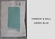 farrow and ball blue green - Google Search