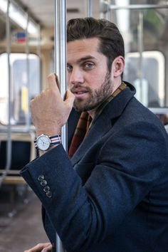 Catching transport in Chicago, FT Smart Turnout NATO Strap |  https://www.smartturnout.com/straps.html