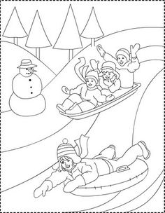 Nicole's Free Coloring Pages: Winter * coloring page - Desen de colorat cu iarna Coloring Pages Winter, Free Coloring Pages, Coloring For Kids, Coloring Books, Winter Princess, Mysterious Girl, Modern Princess, Santa Letter, Winter Colors