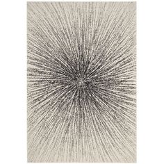 Contemporary Burst Black and Ivory Area Rug (9' x 12'). Affiliate Link. Inexpensive rugs, Rugs, Area Rugs, Rugs for Sale, Cheap Rugs, Rugs Online, Cheap Area Rugs, Floor Rugs, Discount Rugs, Modern Rugs, Large Rugs, Discount Area Rugs, Rug Sale, Throw Rugs, Kitchen Rugs, Round Area Rugs, Carpets and Rugs, Contemporary Rugs, Carpet Runners, Farmhouse Rugs, Nautical Rugs, Washable Rugs, Natural Rugs, Shag Rugs, Fur Rugs, Fluffy Rugs, Extra Large Rugs, Inexpensive Area Rug Ideas, Round Rugs…