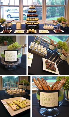 50th Birthday Party Ideas | images of 50th birthday dessert table creative party place wallpaper
