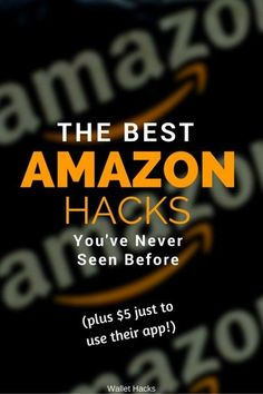 I share the best Amazon.com hacks I know, from avoiding sales tax to getting $5 for using their shopping app. I don't share the 'hacks' everyone knows, like 'use subscribe and save...' duh. :) These are hacks you won't have seen before.