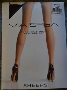 Via Spiga Sheers Control Top Pantyhose