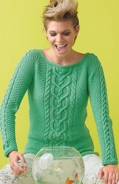 57 Cute Casual Style Outfits To Inspire Everyone - Luxe Fashion New Trends - Fashion for JoJo Knitting Paterns, Lace Knitting, Knitting Stitches, Knitting Designs, Knit Crochet, Knit Patterns, Pull Poncho, Sweater Design, Pulls