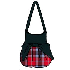 Introducing -The Effie Bag. This bag will be cusom made. The contrasting top and bow...