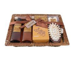 Coffret de Bain Beurre de Cacao, Muscade et Cardamome