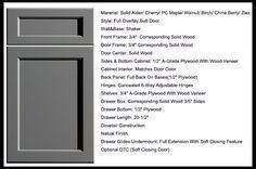 Alibaba USA RTA Modular Shaker Style Kitchen Cabinet