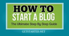 Want to learn how to start a blog? Learn the Step by Step process to starting a blog in 13 simple steps. Create your blog the right way now!
