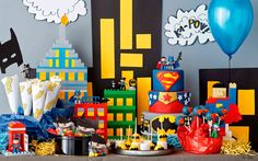 How to turn a few LEGO® DUPLO® bricks into your own DIY educational toy or game for your toddler or preschooler to help them develop early childhood skills Ninjago Party, Superhero Birthday Party, Star Wars Birthday, Boy Birthday Parties, Ninja Turtle Party, Girl Superhero Party, Birthday Supplies, Avengers, Awesome Lego