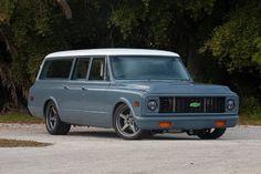 1971 Chevy Suburban On Forgeline Wheels