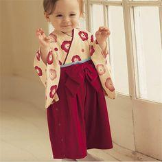Inverno Impressão de Algodão Recém estilo Japonês Kimono Bonito Macacão de Bebê Infantil Bebes Macacão de manga Longa roupas de Bebê para recém nascidos em Macacão/Body de Mamãe e Bebê no AliExpress.com | Alibaba Group