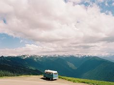 This is my dream. To travel around in a vw bus.