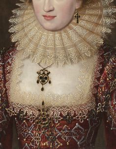 The Art from Siberia • Portrait of a Lady in Red Dress (detail) English...