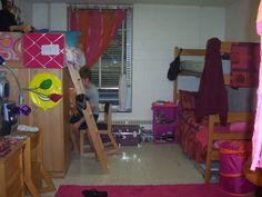 dorm setup idea... finally an idea with 3 beds!