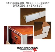 Protect your fine furniture with scuff shield technology during shipment. Call us today to speak to an expert on all packaging solutions! 1.800.722.2325 http://www.beckpackaging.com/ #BeckPackaging #BeckSolutions #MachineMatchmakers