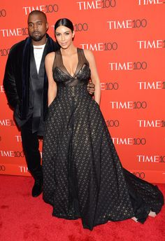 Kim Kardashian West and Kanye West look stunning at the TIME 100 Gala!