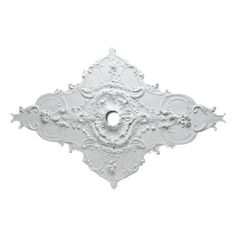 $333.16  - Fypon CM67WT 67 12W x 43 12L x 4 38ID x 1P Whitney Ceiling Medallion *** You can find more details by visiting the image link. (This is an affiliate link) #LightingCeilingFans